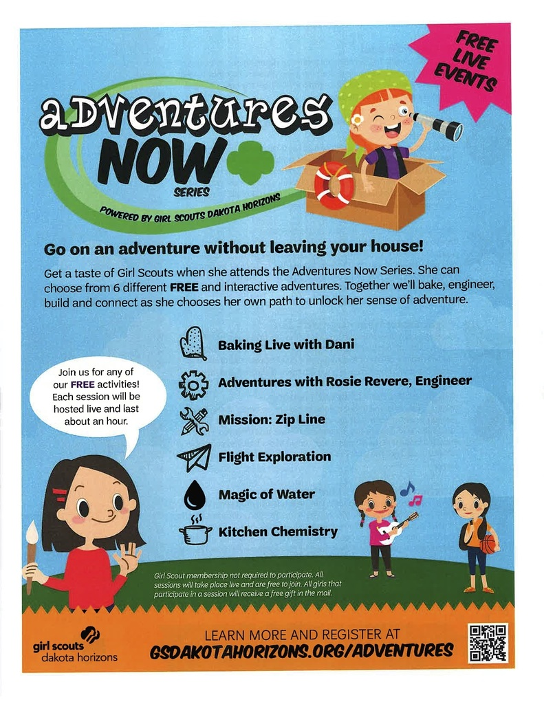 Girl Scouts page 1