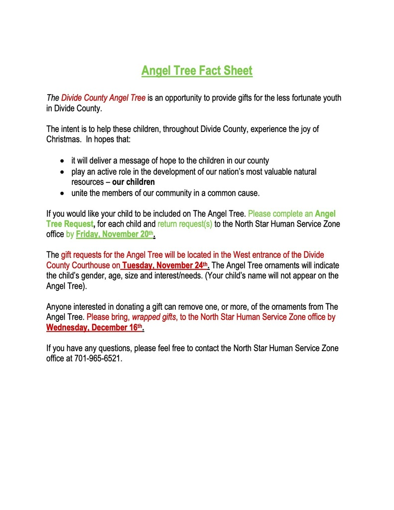 Angel Tree Facts