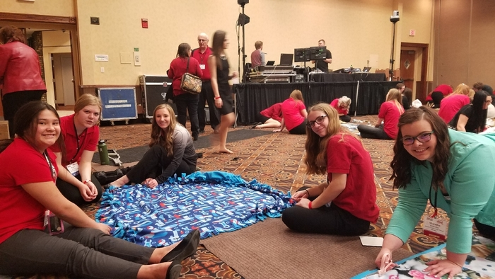 state FCCLA service project