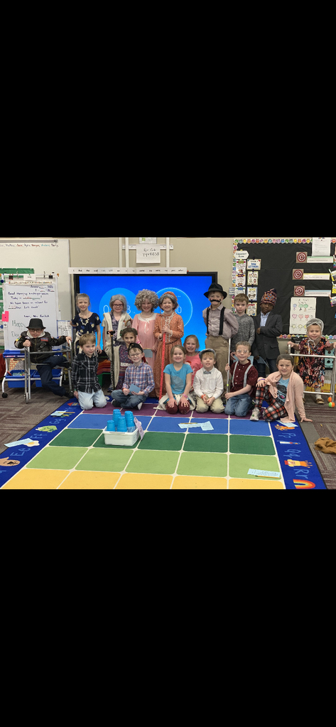 The cutest 100 (year) day olds ever! These kids rock wrinkles!