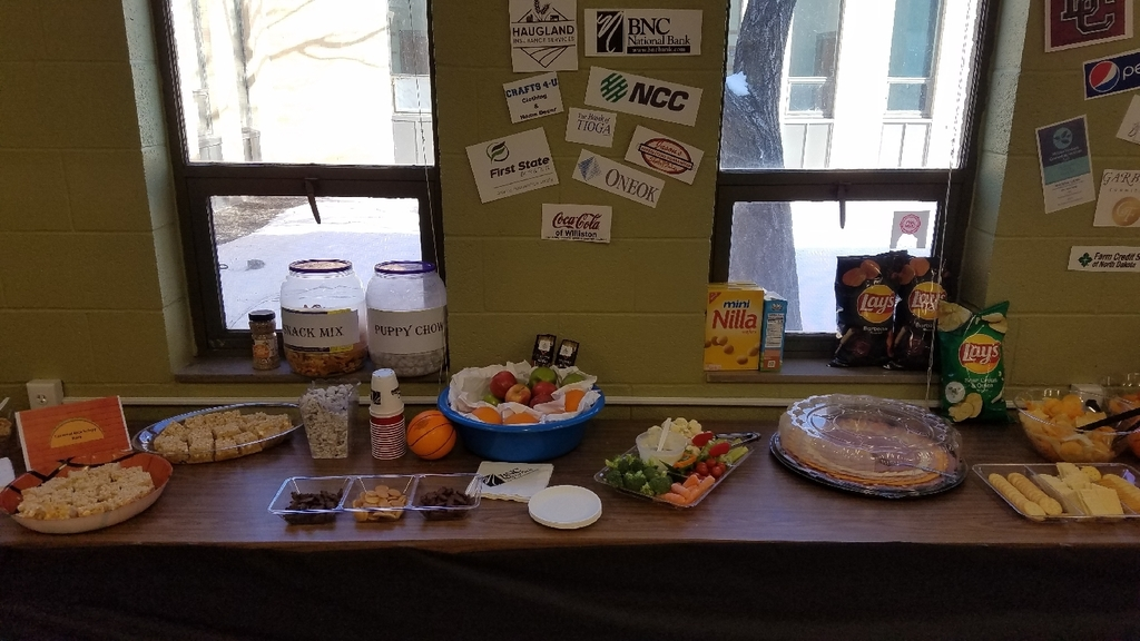 snacks table